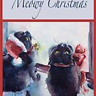 """""""Meowy Christmas"""" by Colleen Reynolds"""