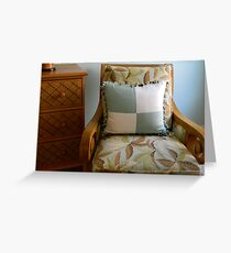 Comfy Chair  ^ Greeting Card