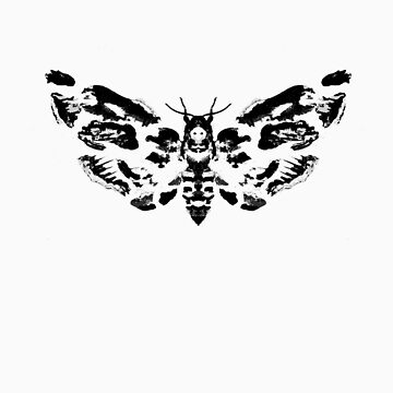 Death's Head Rorschach by sciencefluff