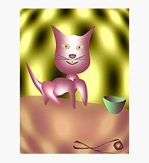 Magic Cat Photographic Print