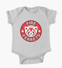 Fire Ferrets One Piece - Short Sleeve