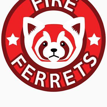 Fire Ferrets by SpazzyFanGirl