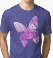 acoustic butterfly  Tri-blend T-Shirt