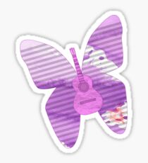acoustic butterfly  Sticker