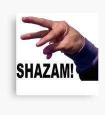 Shazam! Canvas Print
