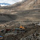 Himalayan monastery - Muktinath by Richard  Stanley