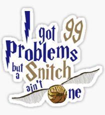 Eagle Problems Sticker