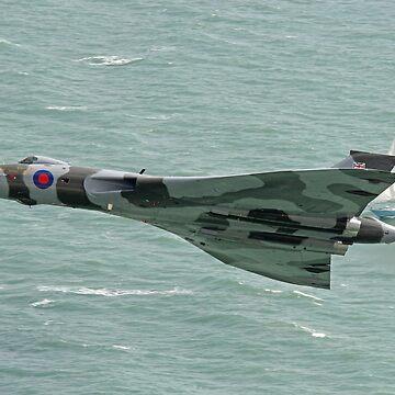 Vulcan XH558 from Beachy Head 3 by Arrowman