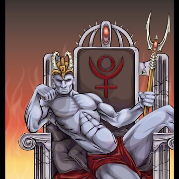 Hades Enthroned by neoelegance