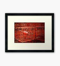 Crab Pots - Solomons Island - Maryland U.S.A. Framed Print