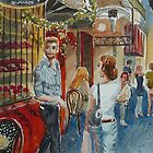 Looking for customers by Virginia  Coghill