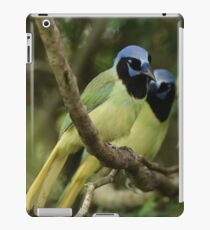 Just a Pair of Green Jays iPad Case/Skin