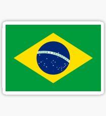 Pegatina Bandera de Brasil - Camiseta brasileña