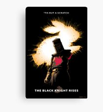 The Black Knight Rises Canvas Print