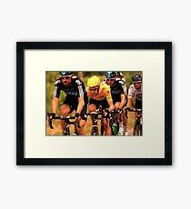 Bradley Wiggins Framed Print