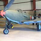 Bell P-39 Aircobra - On Display by glennc70000