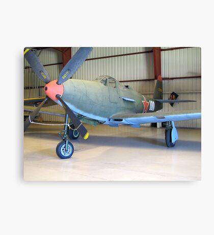 Bell P-39 Aircobra - On Display Canvas Print