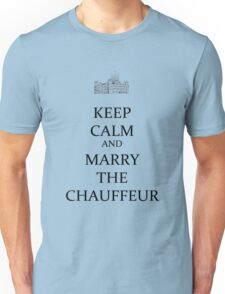 yes marry the chauffeur Unisex T-Shirt