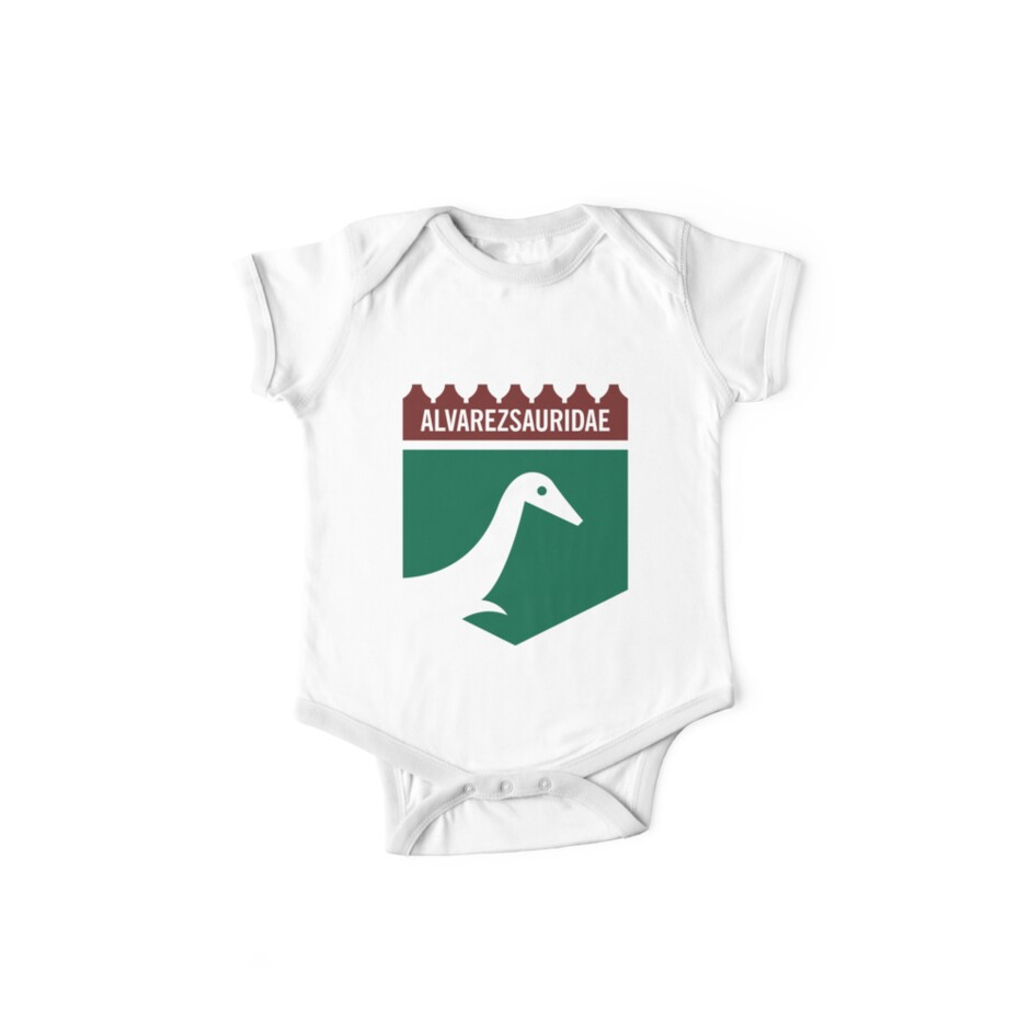 Dinosaur Family Crest: Alverezsauridae by David Orr