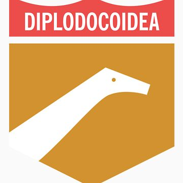 Dinosaur Family Crest: Diplodocoidea by anatotitan