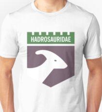 Dinosaur Family Crest: Hadrosauridae Unisex T-Shirt