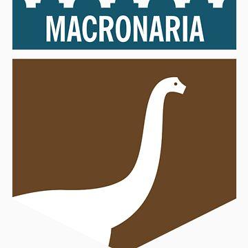 Dinosaur Family Crest: Macronaria by anatotitan