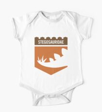 Dinosaur Family Crest: Stegosauridae One Piece - Short Sleeve