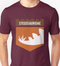 Dinosaur Family Crest: Stegosauridae Unisex T-Shirt