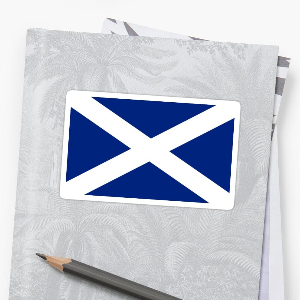 Schottisches Unabhängigkeits-Flaggen-Schottland-T-Shirt Sticker