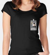 Torchwood Ianto Jones ID Shirt Women's Fitted Scoop T-Shirt