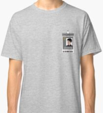 Torchwood Jack Harkness ID Shirt Classic T-Shirt