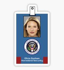 Fringe Division Olivia Dunham Sticker