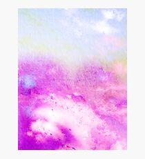 Mixed Feelings Watercolor art V2 #redbubble #decor #buyart #style Photographic Print
