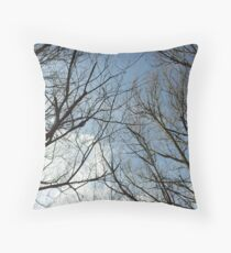To touch the sky is a wonderful thing Throw Pillow