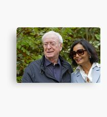 Sir Michael Caine at the RHS Chelsea Flower show 2012 Canvas Print