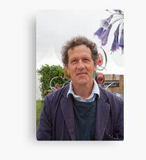 Monty Don at the RHS Hampton Court Palace flower show 2012 Canvas Print