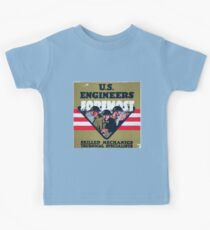 US Engineers Foremost Skilled mechanics technical specialists Kids Clothes