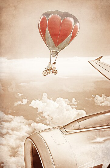 Wednesday Dream - Chasing Planes by Paula Belle Flores