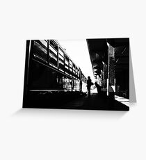 Station Silhouette  Greeting Card