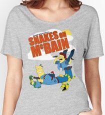 Snakes on McBAIN Women's Relaxed Fit T-Shirt