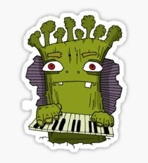 Broccoli Man Sticker