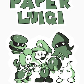 Paper Luigi by RavishingRyan