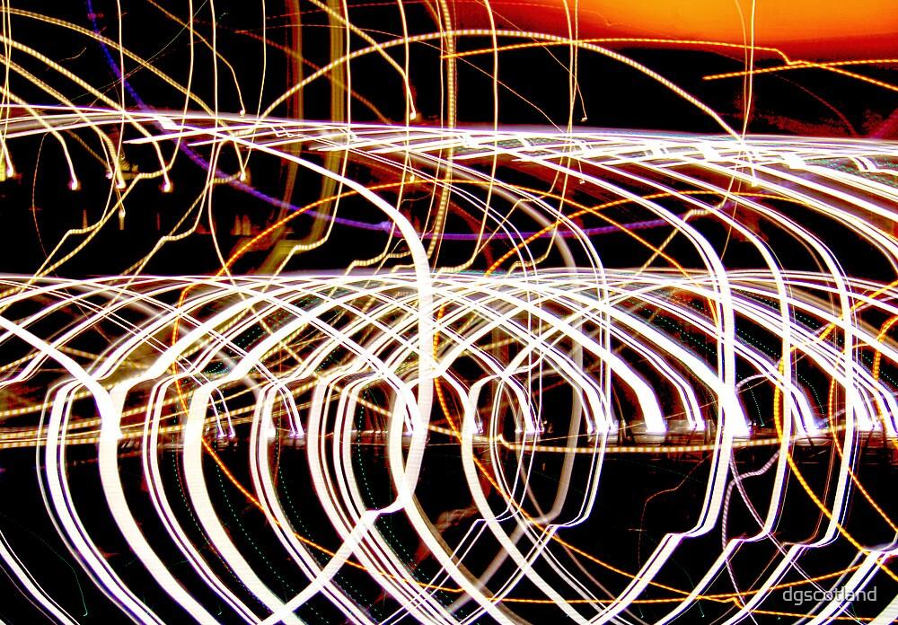 Lightpaint Abstract by dgscotland