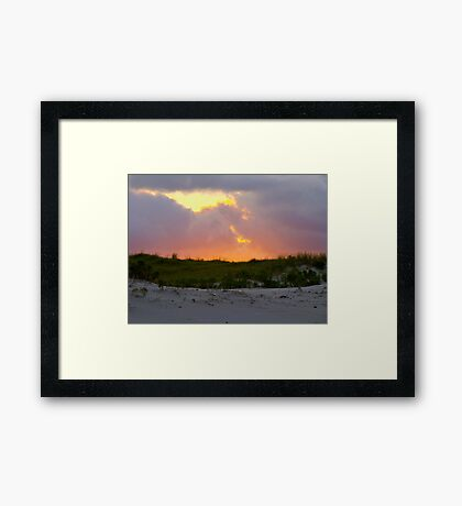 Smoke From a Distant Fire Framed Print