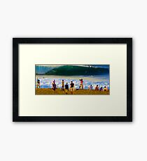Check It Out Dude! Framed Print