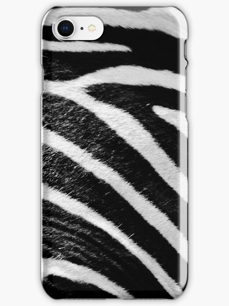 Iphone case - Zebra Print by JaymeeLS