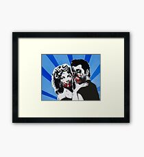 Grease Zombies  Framed Print