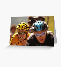 Bradley Wiggins Greeting Card