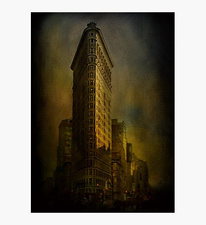 Flat Iron Building from My Perspective Photographic Print
