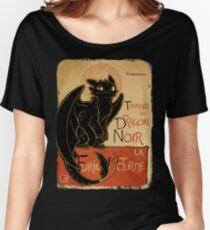 Le Dragon Noir Women's Relaxed Fit T-Shirt